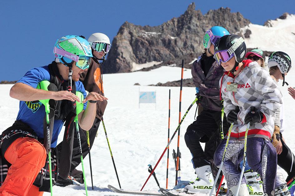 Mt Hood Summer Ski Camp in Oregon